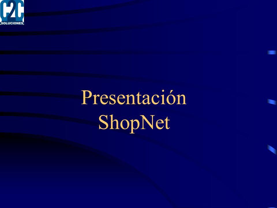 Presentación ShopNet