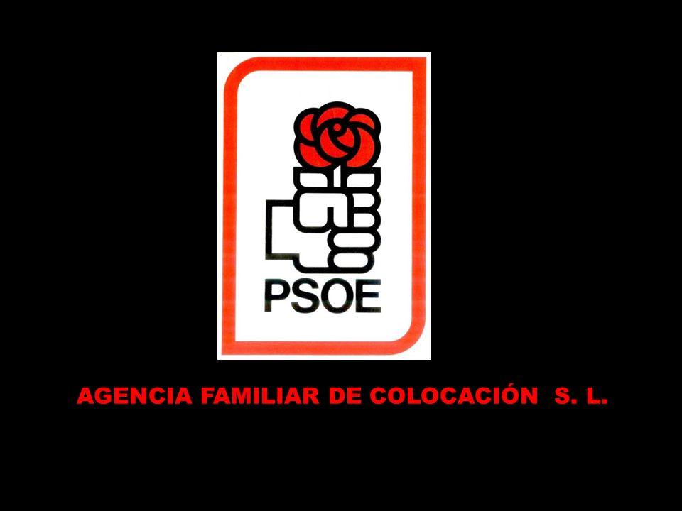 El auténtico Comisario Político del PSOE, que desde que dejó Fiseat donde era escribiente aventajado hasta hoy no ha dado un palo al agua y se ha colocado él y toda su familia.