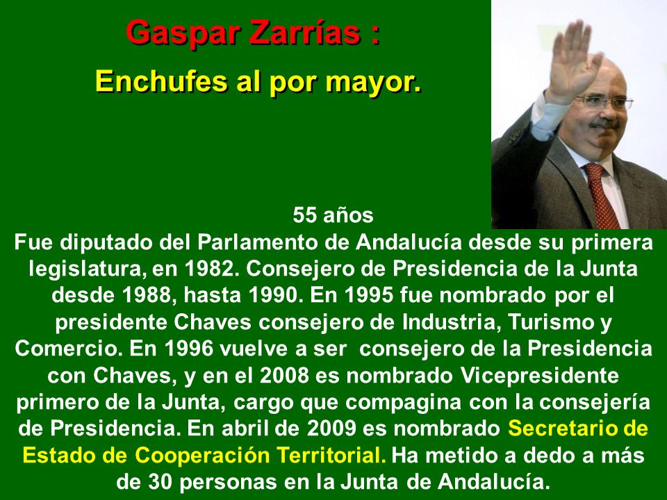 y siguen los Enchufes… PAULA CHAVES IBORRA, recibió, para la empresa donde trabaja de apoderada, un incentivo de 10 millones de euros que fueron conce