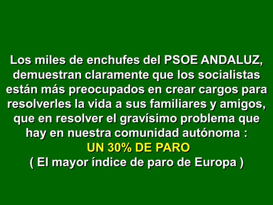 En su Ayuntamiento de Jerez de la Frontera ha conseguido tener que pagar 114 millones de euros de nóminas cuando los ingresos totales del ayuntamiento son 85 millones.