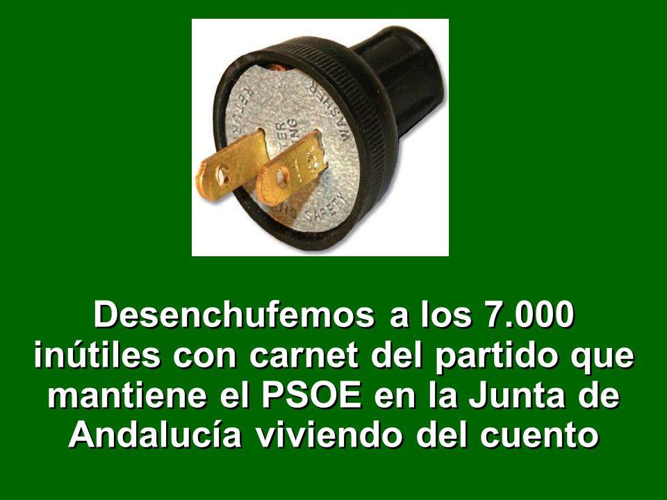 PSOE LA ANDALUCIA DEL ENCHUFE
