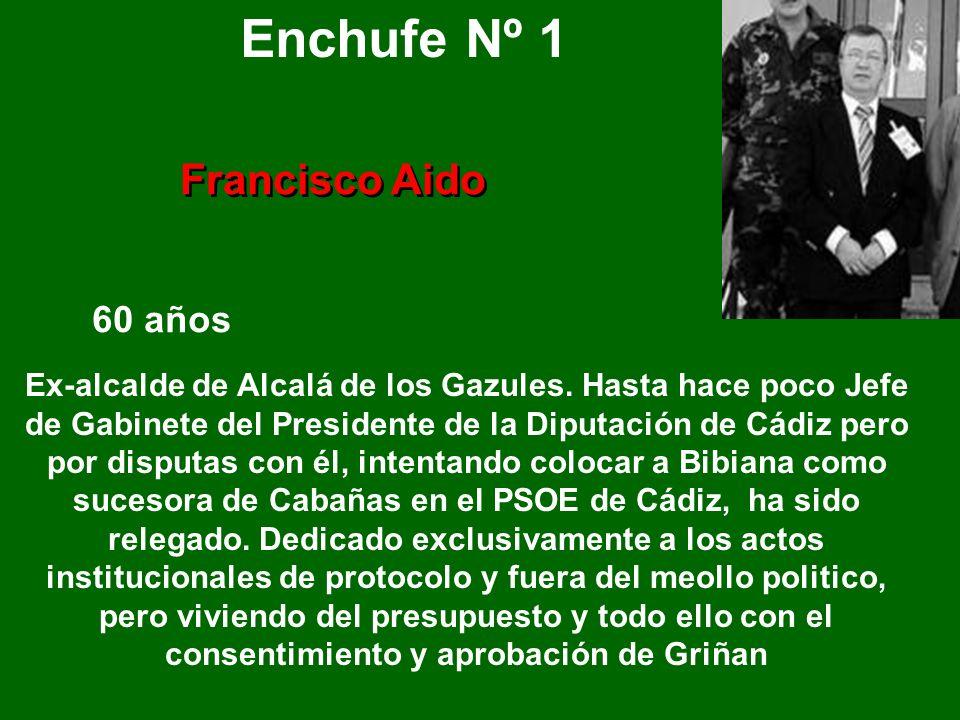 60 años Enchufe Nº 1 Francisco Aido Ex-alcalde de Alcalá de los Gazules.