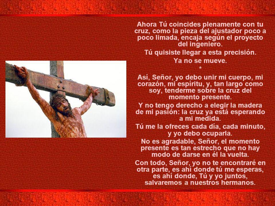 XI ESTACION: JESUS ES CLAVADO EN LA CRUZ.