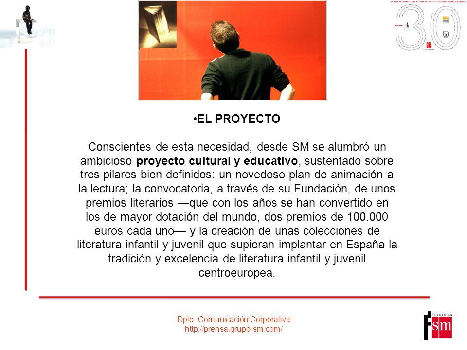 Dpto.Comunicación Corporativa http://prensa.grupo-sm.com/ HITOS Y OTROS DATOS DESTACADOS.