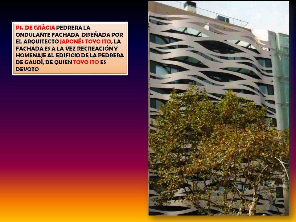 CASA MILÁ – LA PEDRERA – EL DESVÁN – LAS GOLFAS REALIZADAS EN SU TOTALIDAD CON 270 ARCOS CATENARIOS, EL DESVÁN ES UNA ORIGINAL SOLUCIÓN DE ESPACIO QUE
