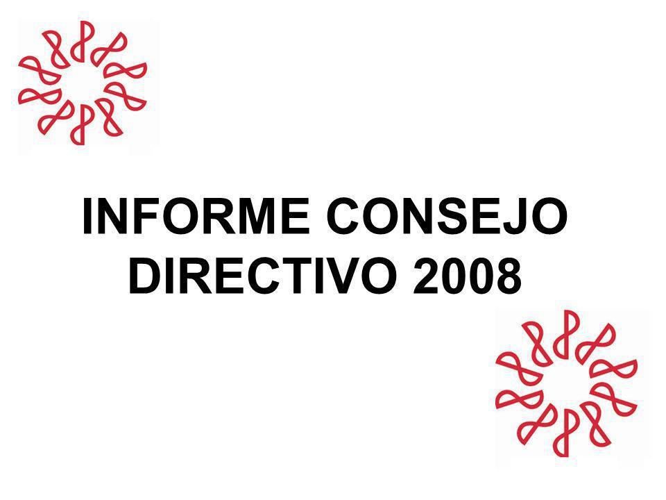 INFORME CONSEJO DIRECTIVO 2008