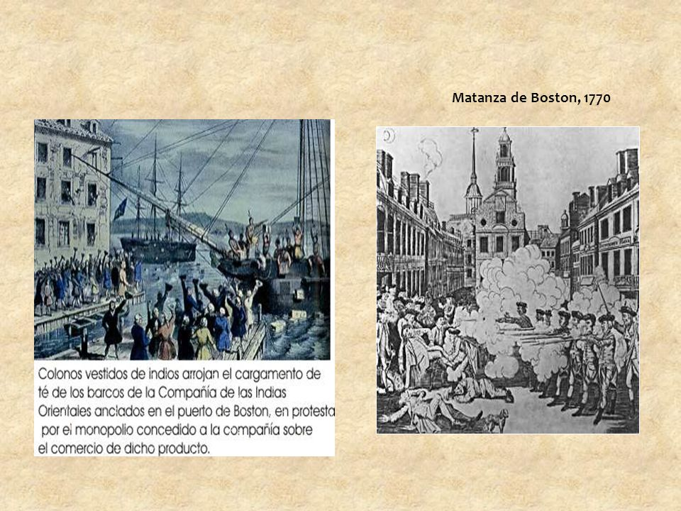 Matanza de Boston, 1770