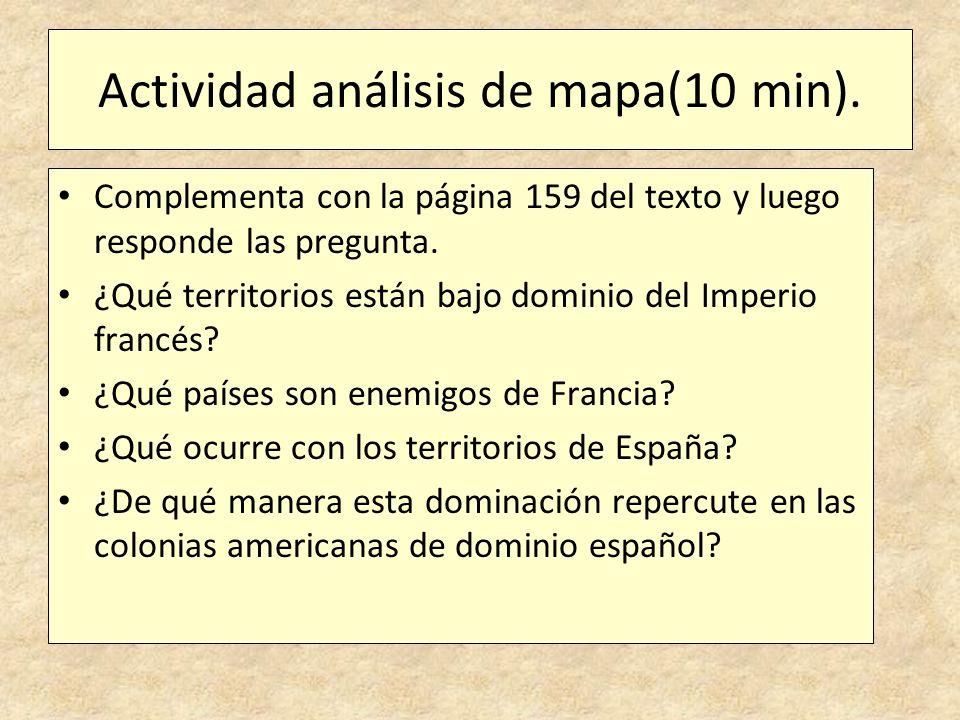 Actividad análisis de mapa(10 min).