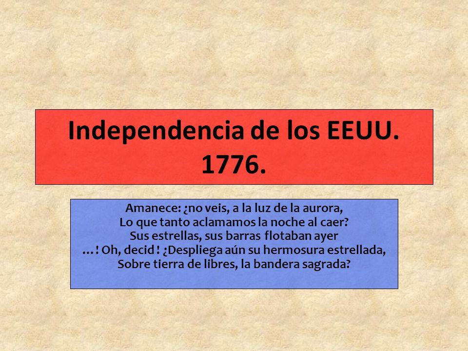 Independencia de los EEUU.1776.