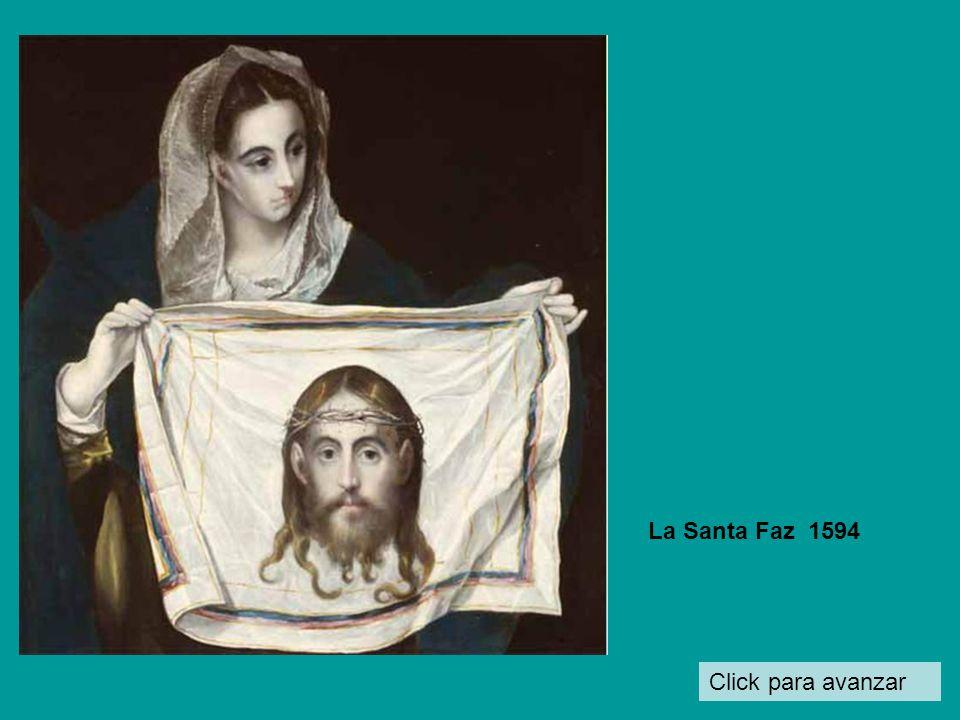 Click para avanzar Cristo abrazado a la cruz 1590
