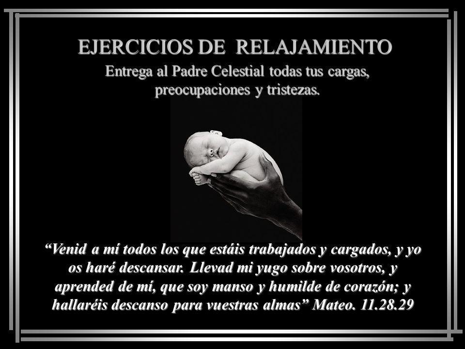 EJERCICIOS PARA EL ALMA Mantén contacto con Dios...