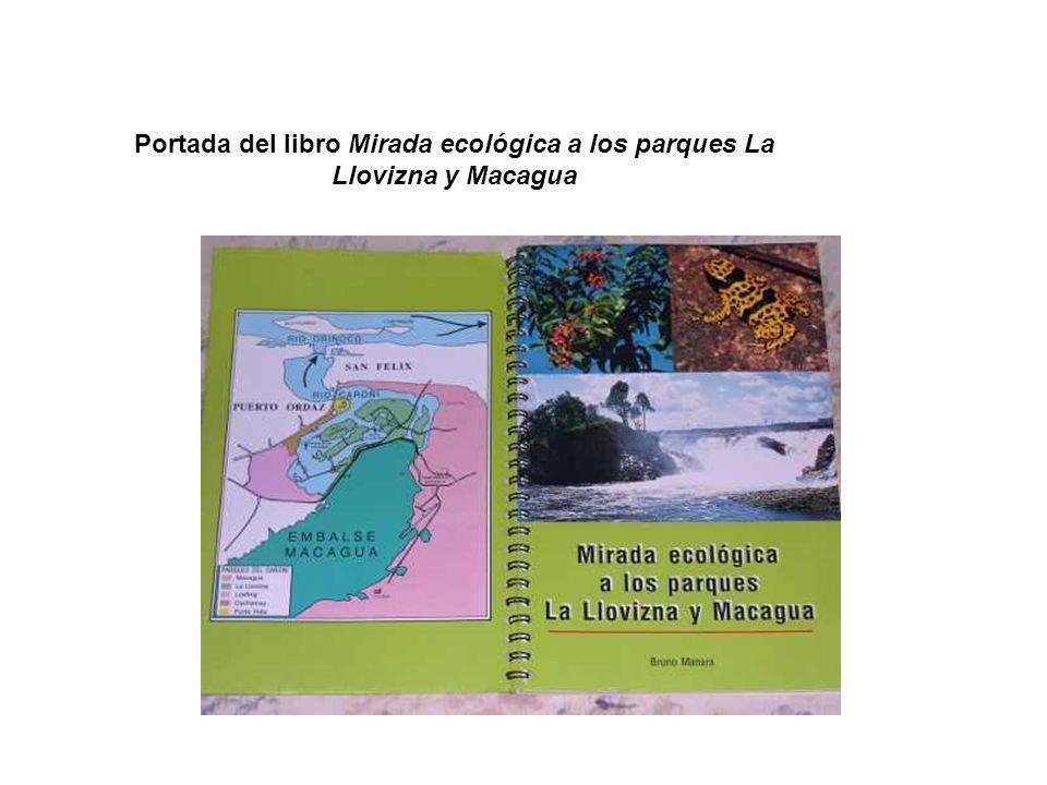 Portada del libro Mirada ecológica a los parques La Llovizna y Macagua