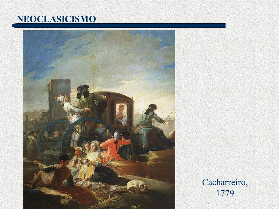 NEOCLASICISMO Goya La gallina ciega El Pradera de san Isidro El pelele