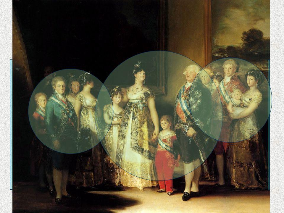 NEOCLASICISMO Goya La familia de Carlos IV