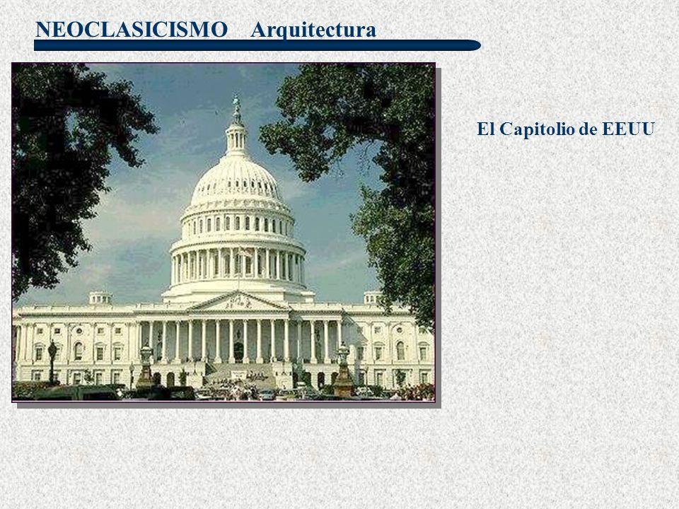 NEOCLASICISMO El Capitolio de EEUU Arquitectura