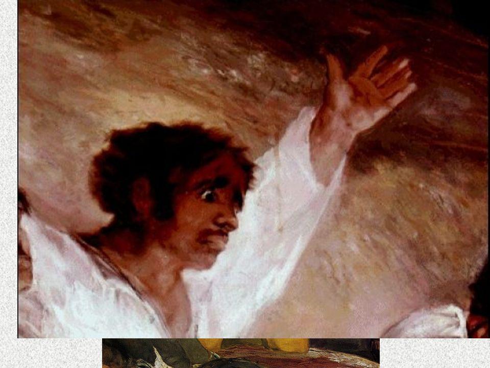 NEOCLASICISMO Goya Los fusilamientos del 3 de Mayo