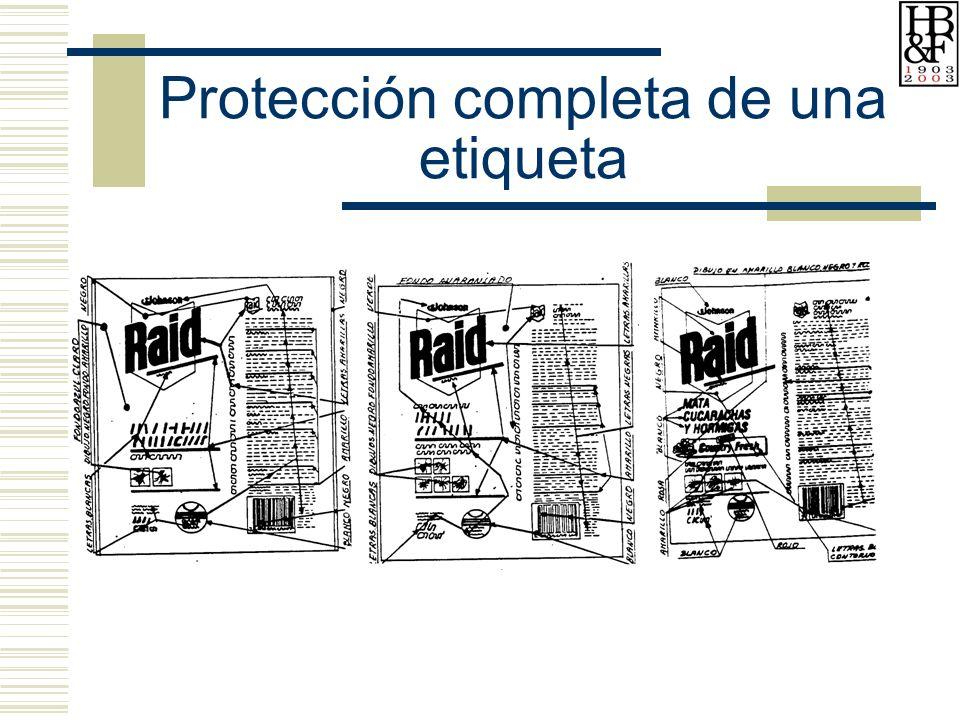 Protección completa de una etiqueta