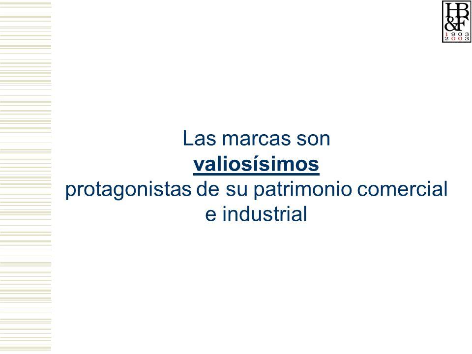 Las marcas son valiosísimos protagonistas de su patrimonio comercial e industrial