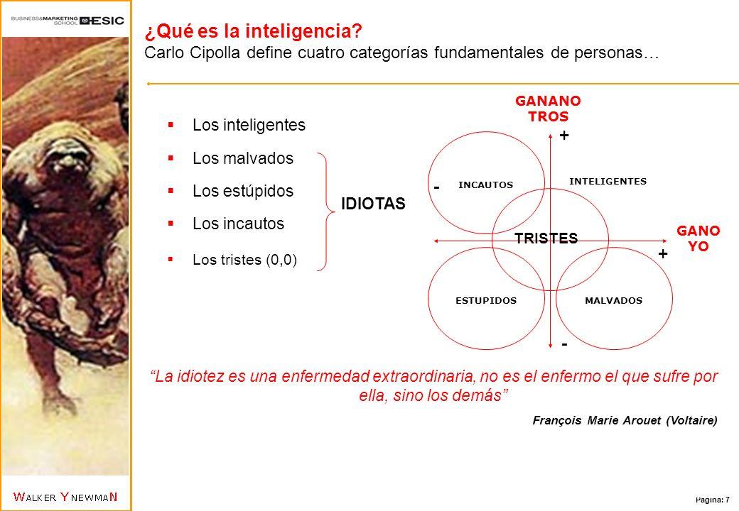 Página: 8 ¿Qué es la inteligencia.