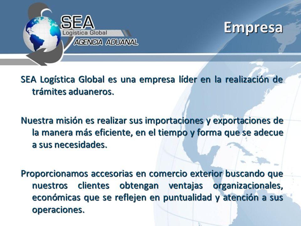 Empresa Empresa SEA Logística Global es una empresa líder en la realización de trámites aduaneros.