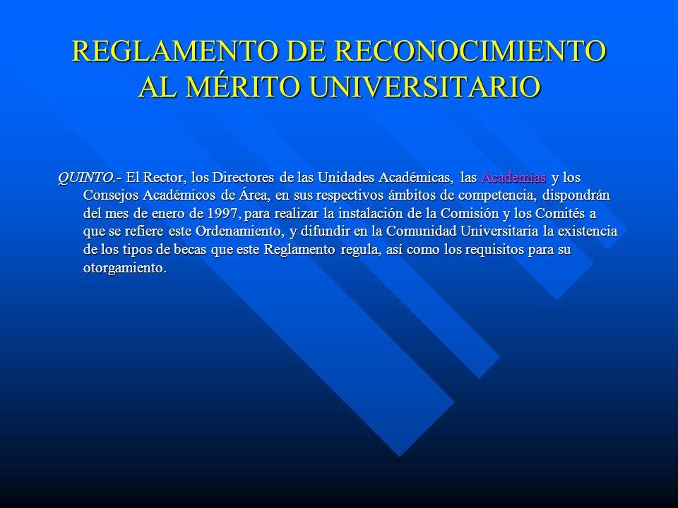 Artículo 30.- En cada Unidad Académica el Comité de Becas estará integrado por: I.- El Director, quien lo presidirá; y II.- Representantes de los prof