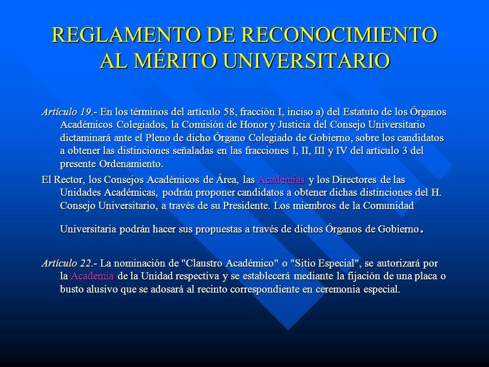 QUINTO.- El Rector, los Directores de las Unidades Académicas, las Academias y los Consejos Académicos de Área, en sus respectivos ámbitos de competen