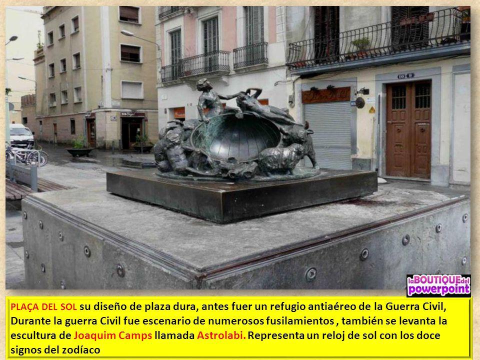 PLAÇA DEL DIAMANT La escritora catalana Mercè Rodoreda fue la responsable de que la Plaça del Diamant. La novela del mismo título cuenta la historia d