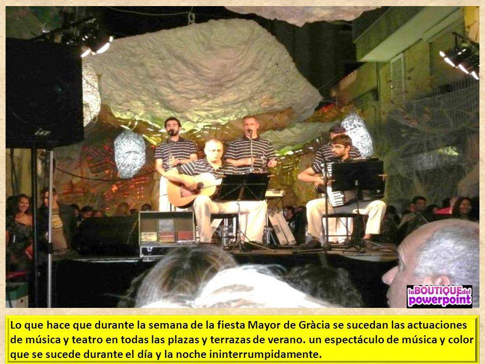 EL DISTRITO DE GRÀCIA es tradicionalmente el más vanguardista y artístico de la ciudad