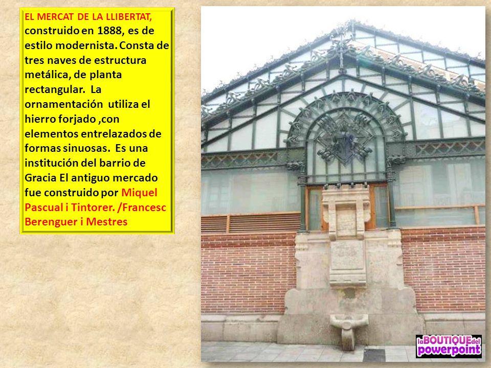 CENTRO MORAL E INSTRUCTIVO DE GRACIA (CMIG) Arquitecto: Francesc Berenguer Es una entidad cívica fundada en 1868 por algunos prohombres de Barcelona c