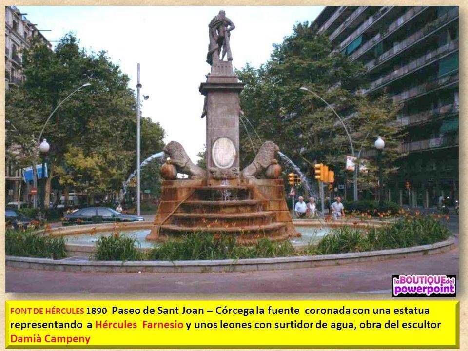 Monumento a ANSELMO CLAVÉ 1824-1874 músico y político escultor Manel Fuxá y el arquitecto Josep Villaseca, esta hecha de bronce sobre una gran base de
