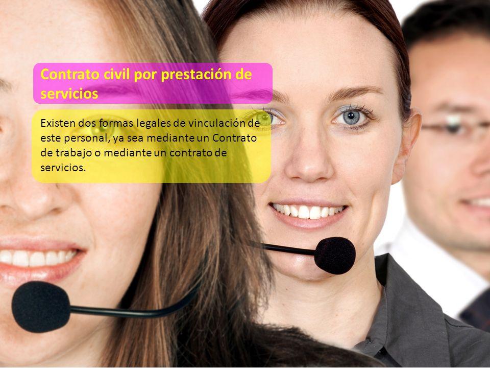Se celebra de manera bilateral entre una empresa y una persona (natural o jurídica) especializada en alguna labor específica.