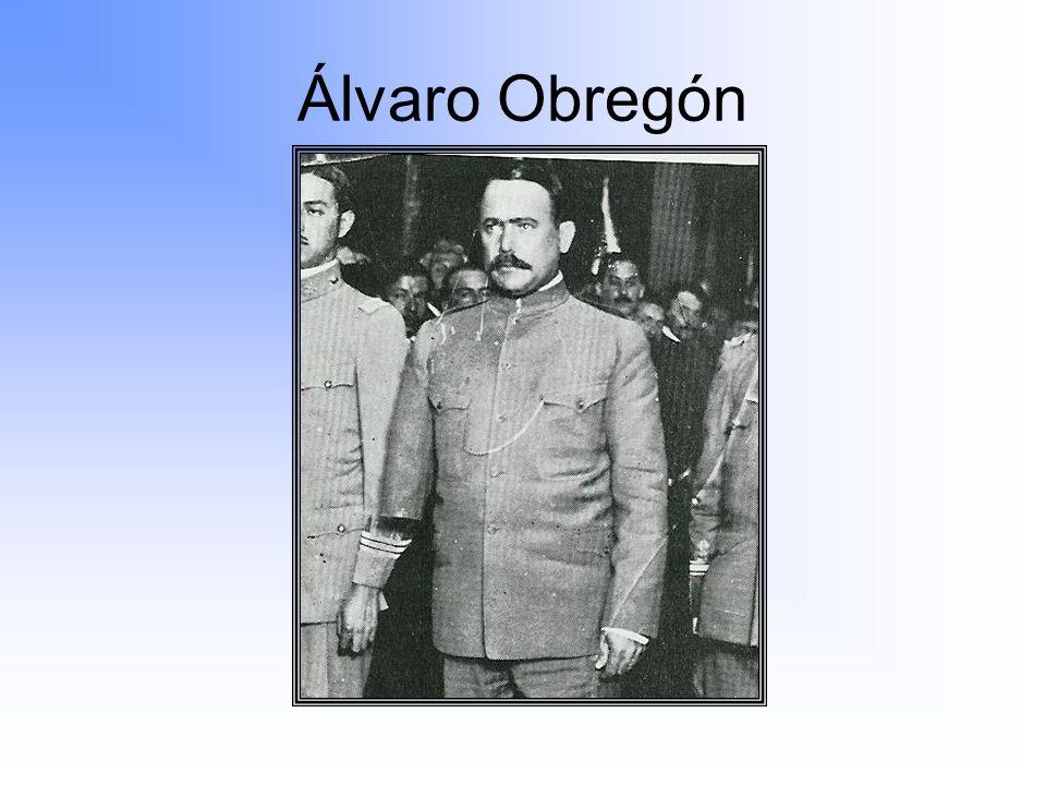Maximato Álvaro Obregón
