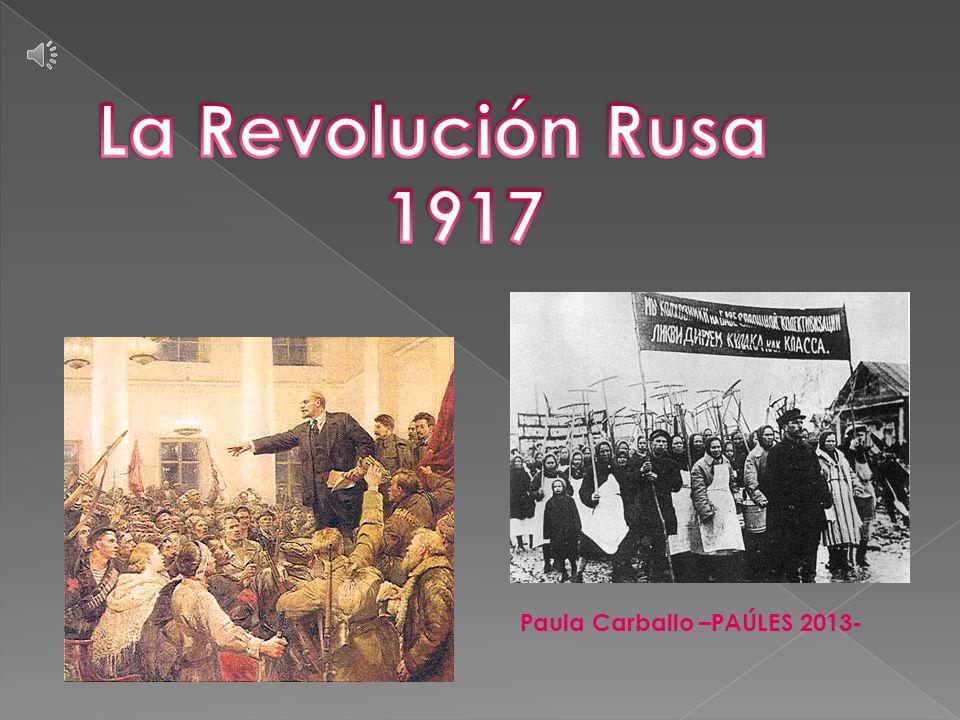 2.3 La Revolución de Octubre En octubre de 1917, Lenin y Trotski consideraron que había llegado el momento de terminar con la situación de doble poder.