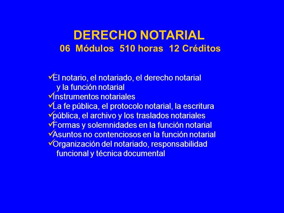 El notario, el notariado, el derecho notarial y la función notarial Instrumentos notariales La fe pública, el protocolo notarial, la escritura pública