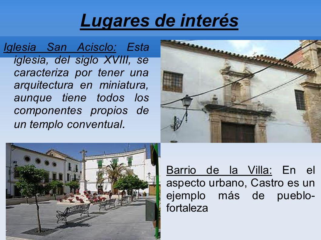 Historia de Castro del Río Algunas expertos consideran que Castro del Río fue fundado por el pretor de la España Ulterior, Lucio Postumio. Durante las