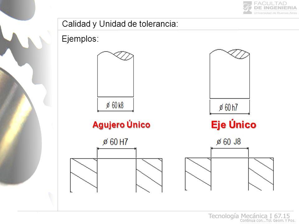 Tolerancias Geométricas y de Posición: La existencia de tolerancia geométricas y de posición, es debido a las exigencias de mecanizado y la intercambialidad de las partes.