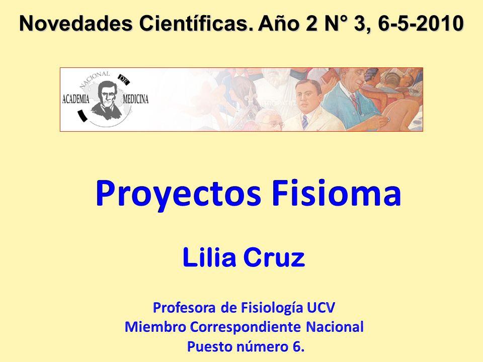 Novedades Científicas. Año 2 N° 3, 6-5-2010 Lilia Cruz