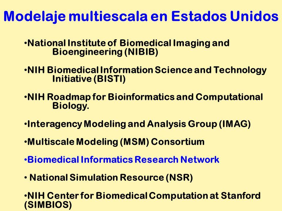 National Institute of Biomedical Imaging and Bioengineering (NIBIB) NIH Biomedical Information Science and Technology Initiative (BISTI) NIH Roadmap f