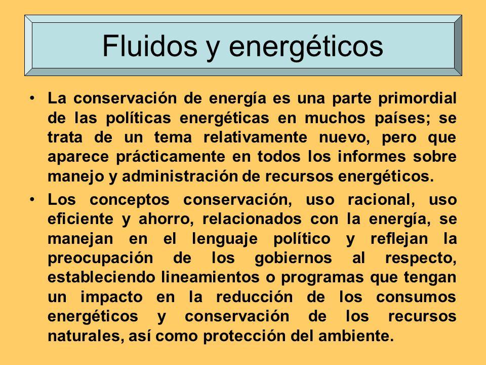 La conservación de energía es una parte primordial de las políticas energéticas en muchos países; se trata de un tema relativamente nuevo, pero que ap