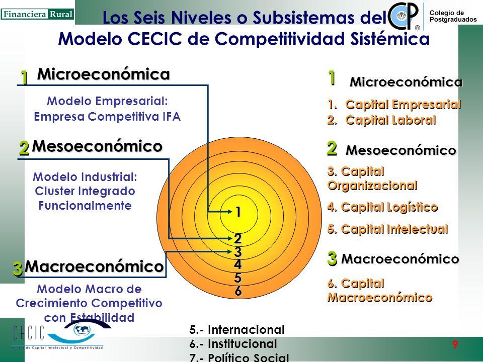 En la Nueva Era del conocimiento y la globalización ya no se compite Empresa vs. Empresa sino Polo Regional-Cluster-Empresa vs. En un esquema de Compe
