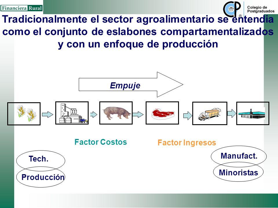 CADENA AGROALIMENTARIA (CAA) alianza vertical o red estratégica entre organizaciones independientes dentro de la misma cadena Ambiente Institucional (