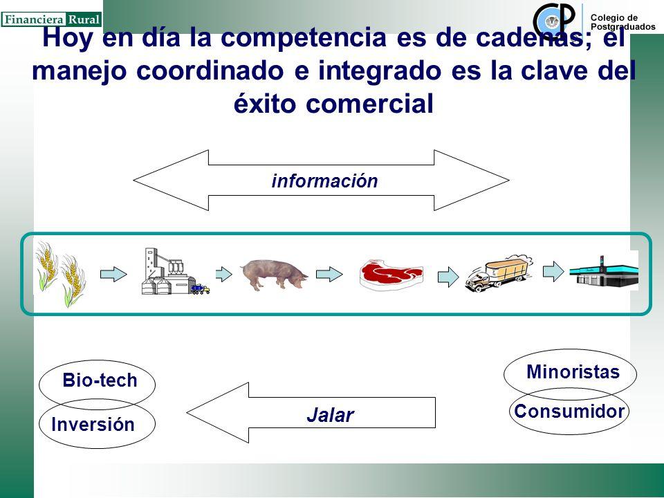 Factor Costos Factor Ingresos Tradicionalmente el sector agroalimentario se entendia como el conjunto de eslabones compartamentalizados y con un enfoq