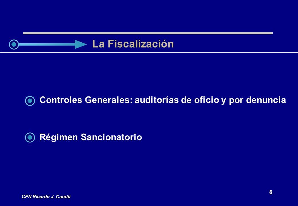 27 CPN Ricardo J.Caratti Manipuleo indebido de medidores.