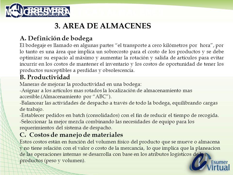 3.AREA DE ALMACENES A.