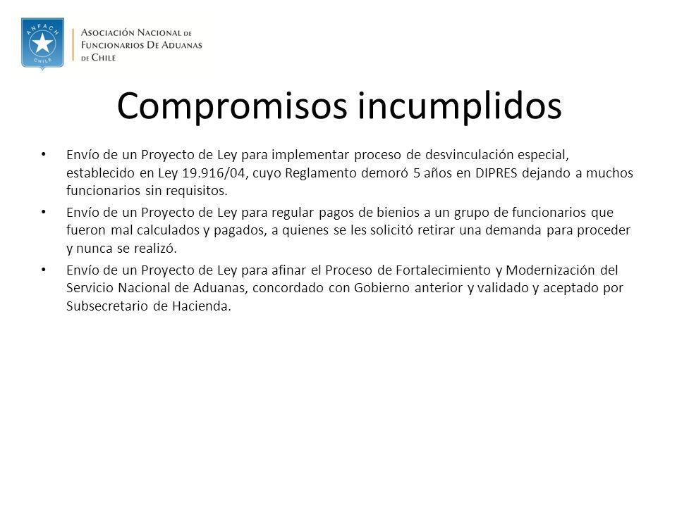 Rebaja de Ad Valorem Innecesario cambio en política comercial 3.