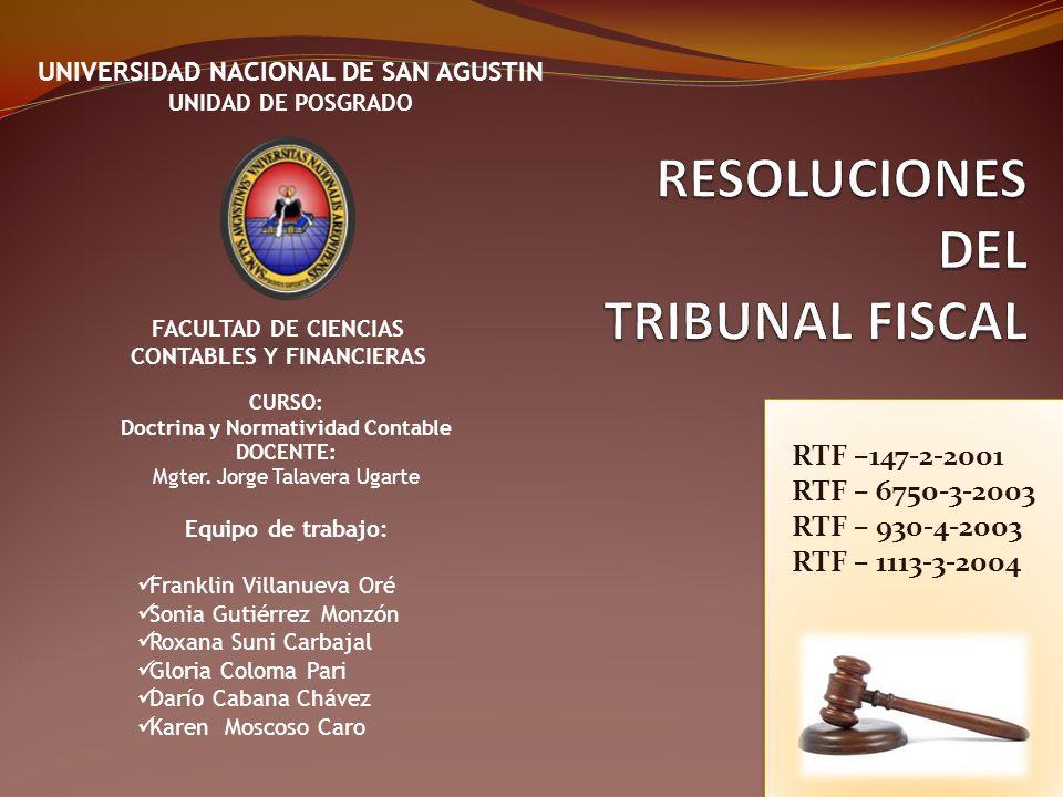 DICTAMEN DEL TF RESUELVE: Confirmar las Resoluciones de Intendencia Nro.