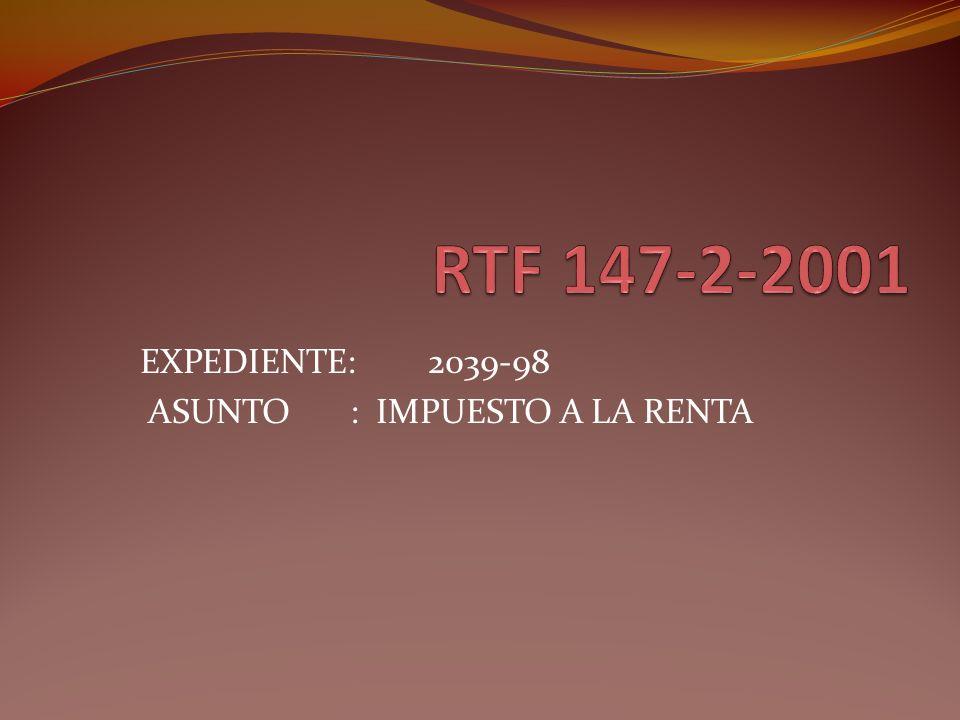 Fundamentos del TF El TF manifiesta que de acuerdo con lo dispuesto por el Art.57º de la LIR, a efecto de dicho impuesto el ejercicio gravable comienza el 1 de enero y termina el 31 de diciembre de cada año.