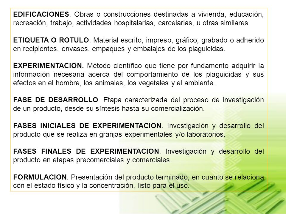 Artículo 88.DE LA APLICACION EN EDIFICACIONES, VEHICULOS O AREA PUBLICA.