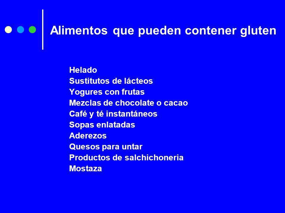 Helado Sustitutos de lácteos Yogures con frutas Mezclas de chocolate o cacao Café y té instantáneos Sopas enlatadas Aderezos Quesos para untar Product