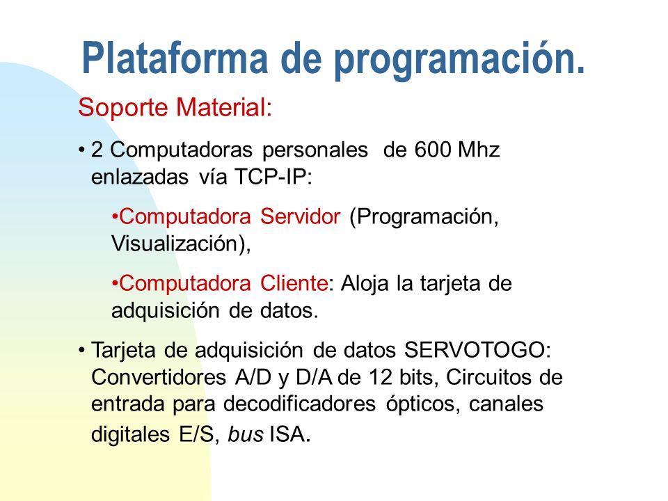 Plataforma de programación.